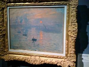 Impréssion Soleil Levant Monet Sunrise