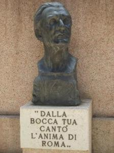 E sto! - Trilussa - Cimitero Monumentale Roma