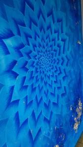 Fiori di loto n. 14 Acrilico su tela cm 100 x 100 Anno 2016